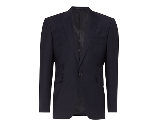Navy Tailored Short Jacket.png